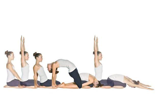 Йога движения