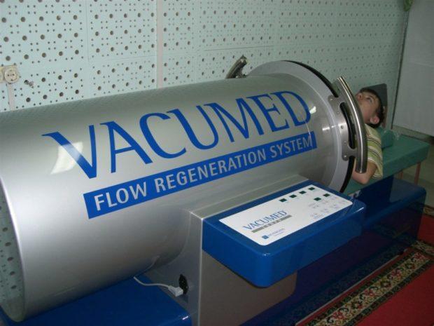 Аппарат для ваккумного лимфодренажа всего тела