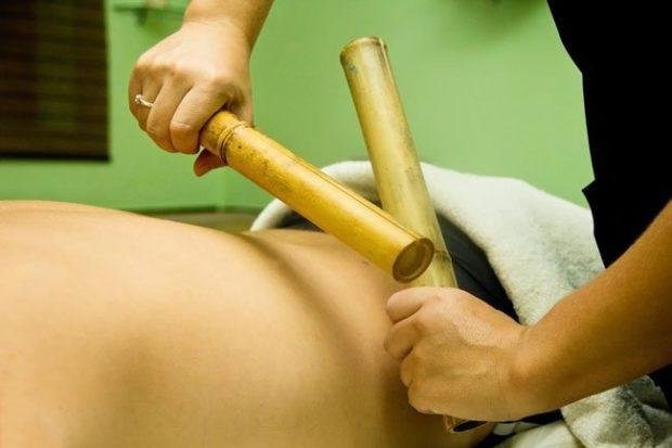 Бамбуковый массаж
