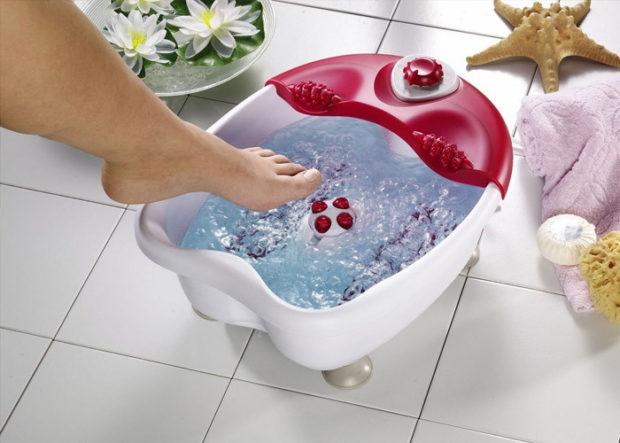 Гидромассаж ног