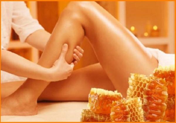 Медовый массаж ног