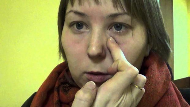 Эффект массаж - улучшение зрения