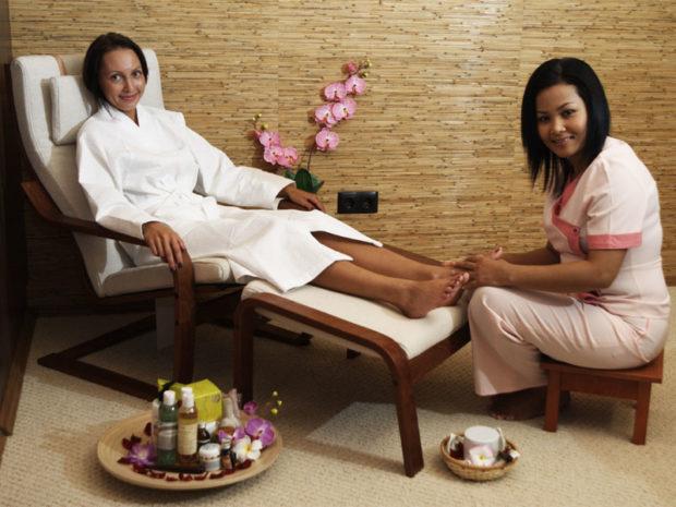 Проведение массаж
