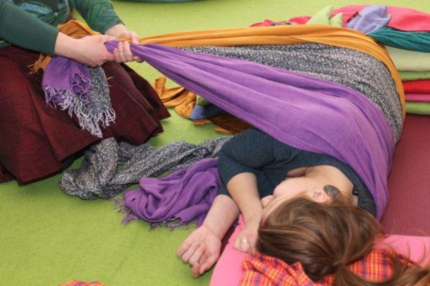 Расслабляющий массаж ребозо