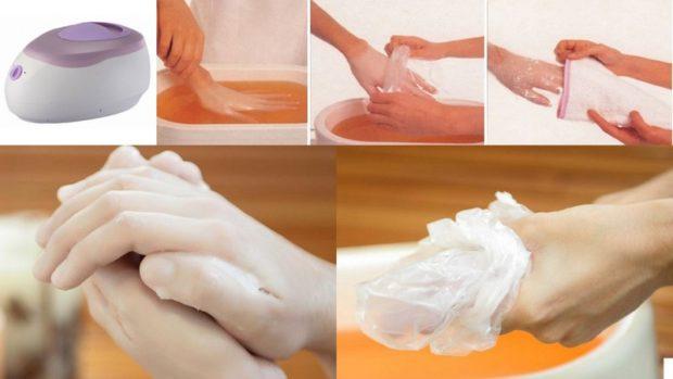 Атрибуты для парафинового массажа