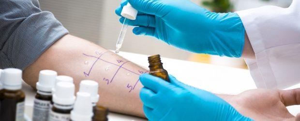 Проверка на аллергию на мед