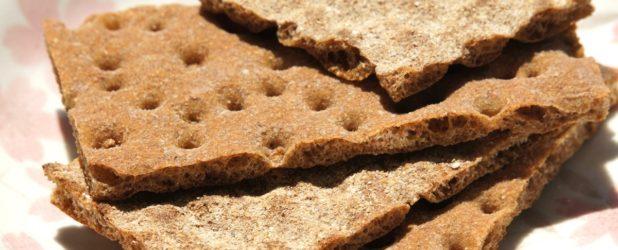 Легкие хрустящие хлебцы