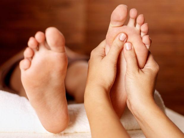 Классический массаж стоп