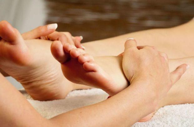 Расслабление ног