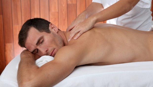 Массаж для мужчин снимает стресс
