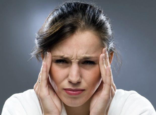 Показание для массажа - головные боли