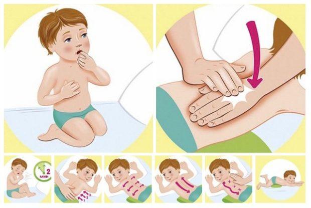 Перкусионный массаж детям