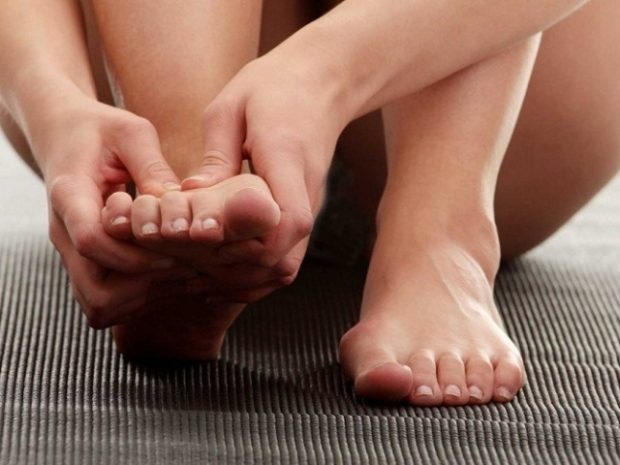 Самомассаж ступней