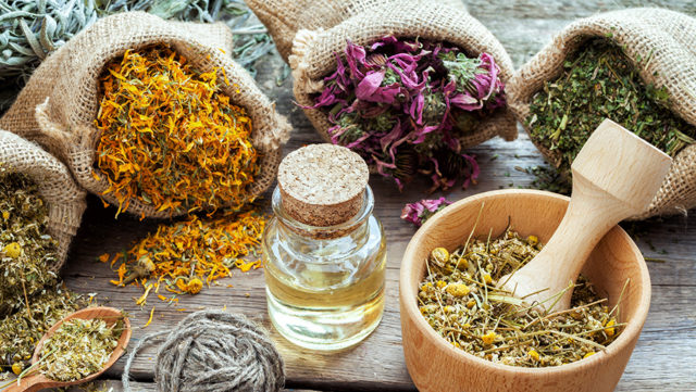 Травы и масла для мешачков