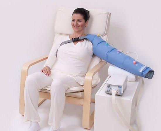 Аппаратный массаж для рук