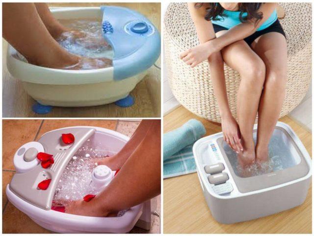 Гидромассажеры для ног