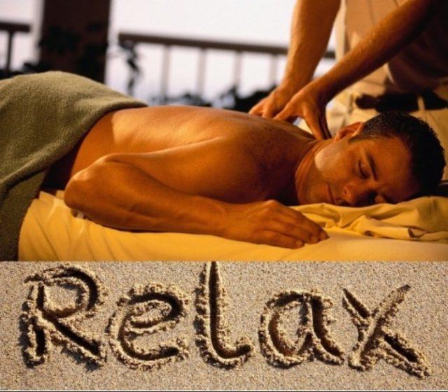 Расслабляющий массаж дома