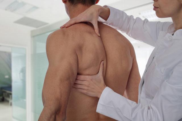 Проработка спины