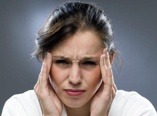 Массаж при головной боли