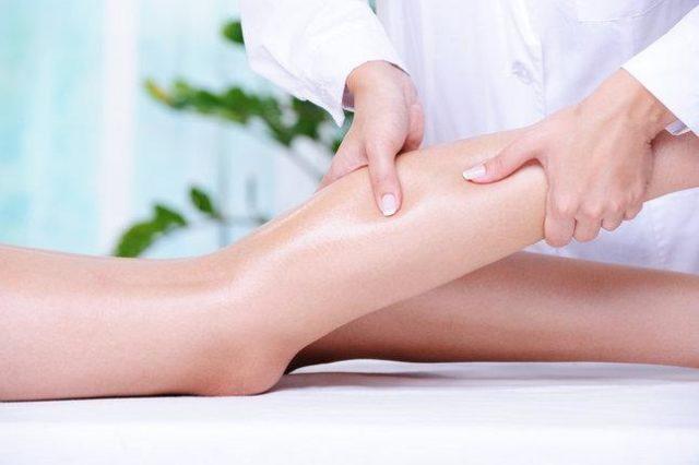 Массаж ног при лимфостазе