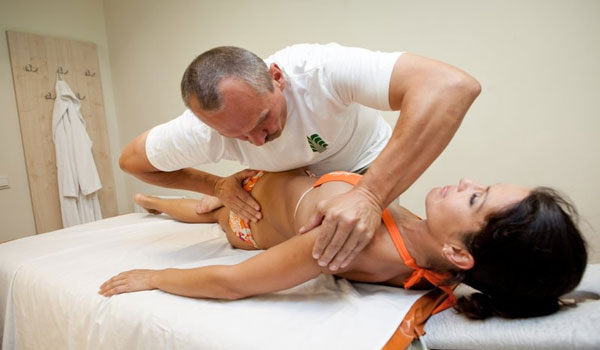Скручивания в мануальной терапии