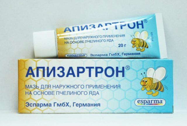 Мазь с пчелиным ядом