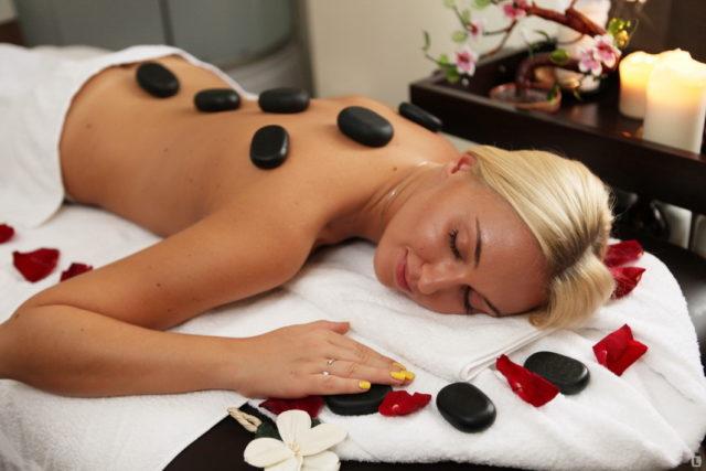 Тибетский массаж камнями