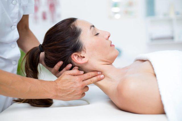 Интесивный массаж шеи