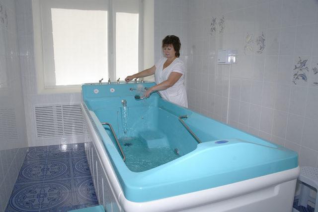 Водолечебная ванна