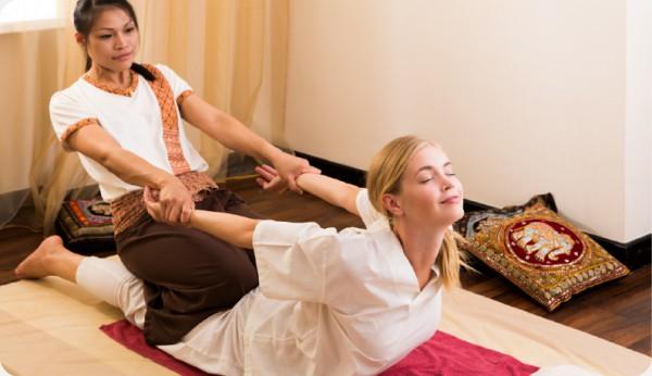 Тайский массаж в одежде