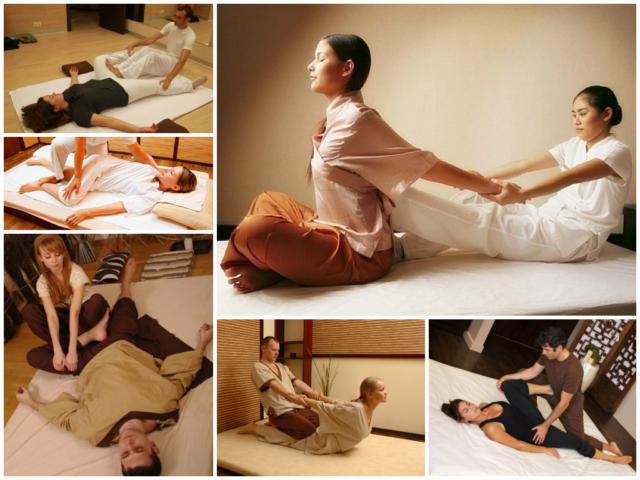 Техника тайского массажа