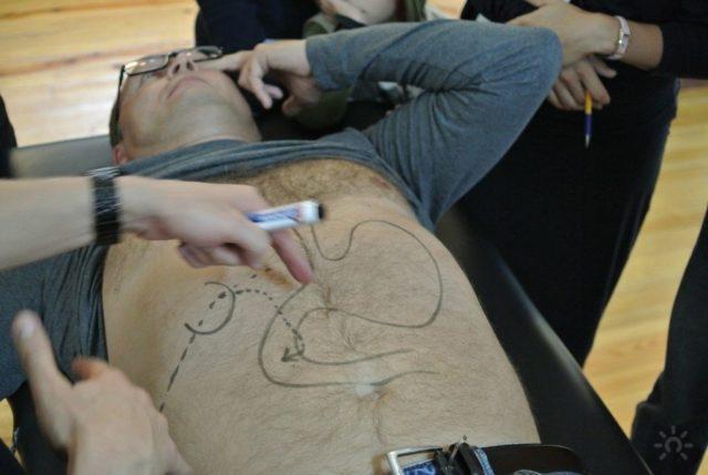 Подготовка и обучение висцеральному массажу