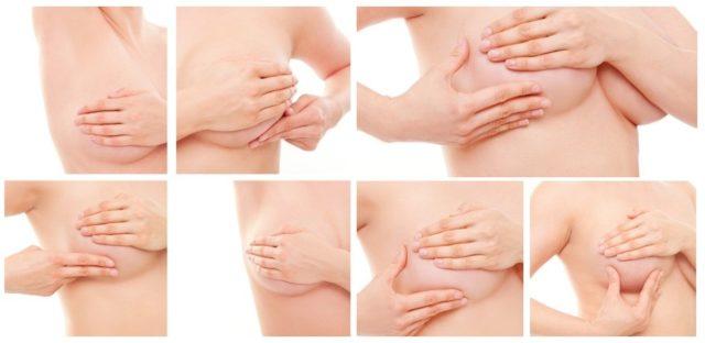 Техника массажа груди