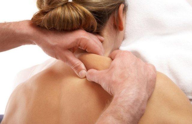 польза массажа шеи