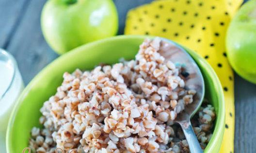 Диета на 1 день - гречка и яблоки