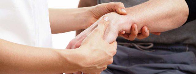 Массаж руки после перелома кисти
