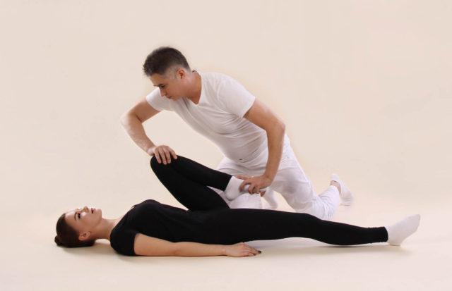 Японский массаж тела