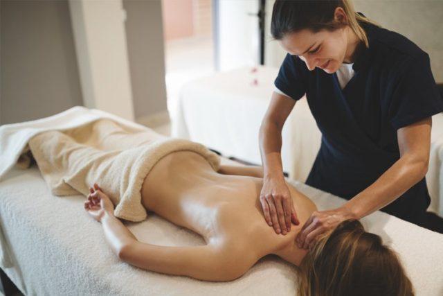 Общий массаж тела - удовольствие