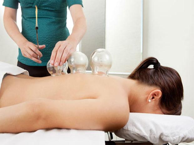 Баночный массаж при грыже на позвоночнике