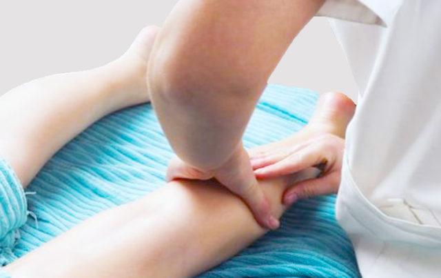 Массаж ноги после перелома лодыжки