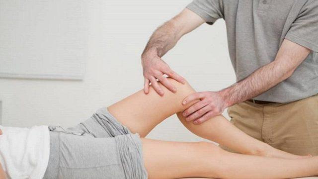 Массаж ноги после перелома