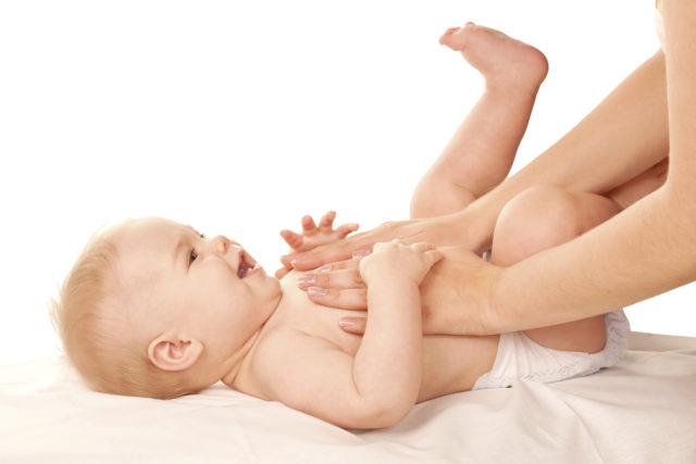 Расслябляющий массаж грудничку