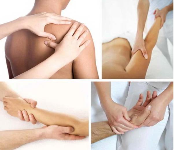 Массирование плеч и рук после инсульта