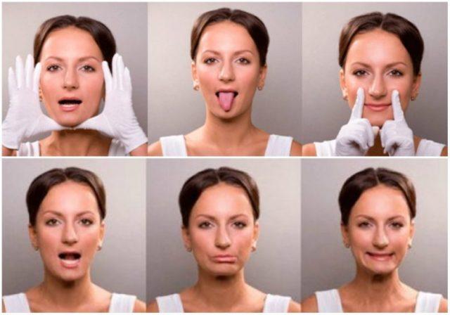 Массирование лица после инсульта
